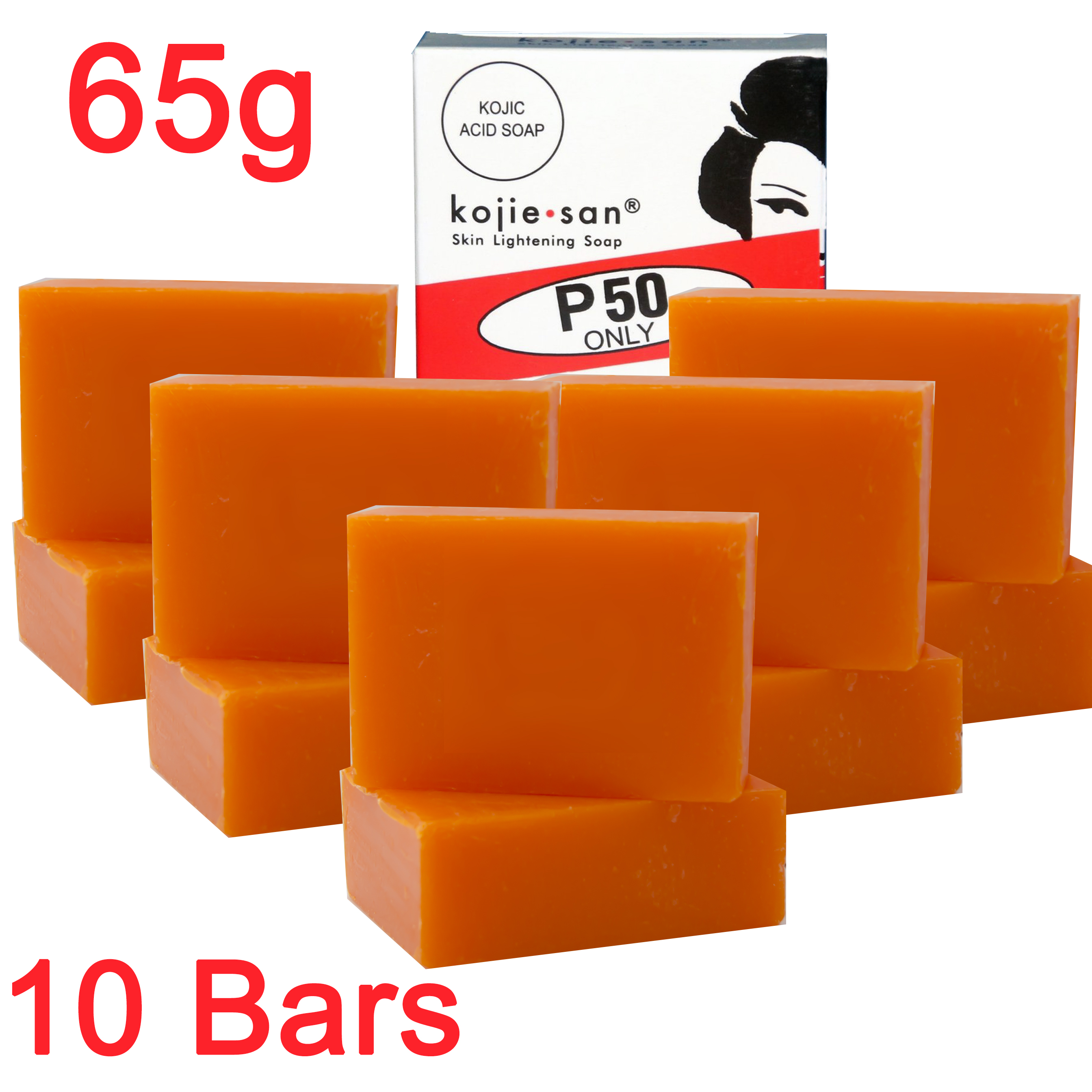 Kojie San Skin Lightening Kojic Acid Soap 2 Bars 65g