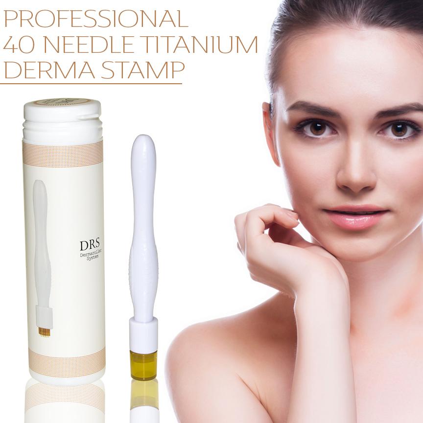 Professional 40 Needle Derma Stamp Amp Micro Needling