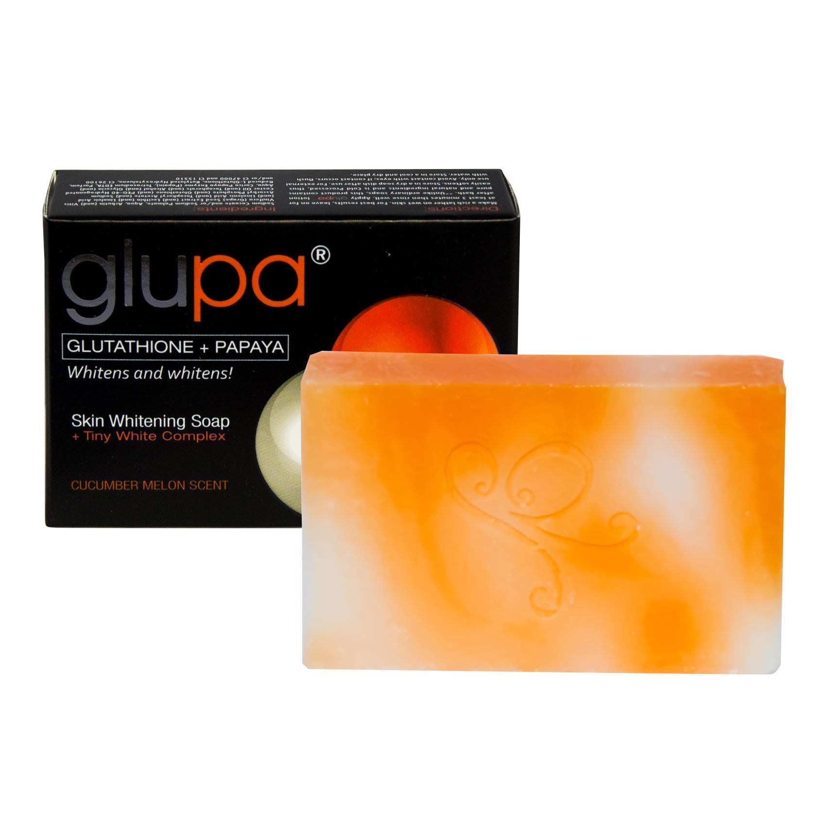 Lightening soap