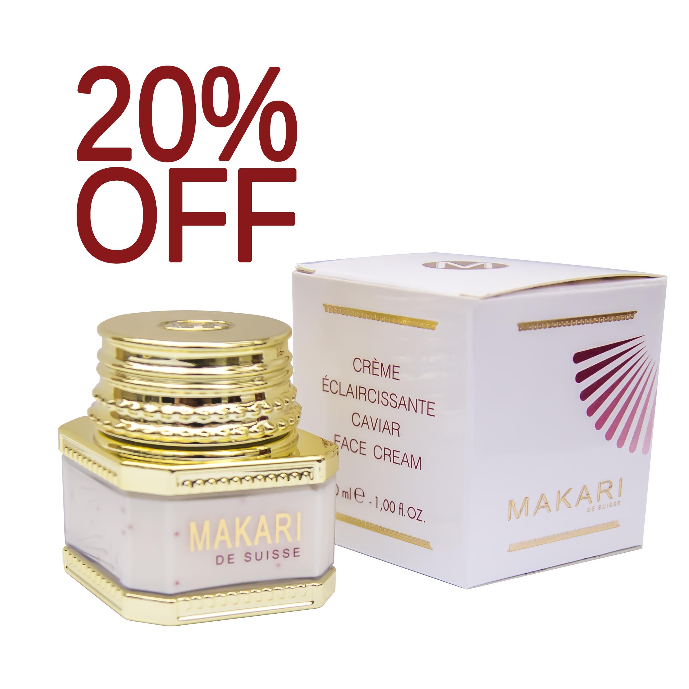 makari face cream