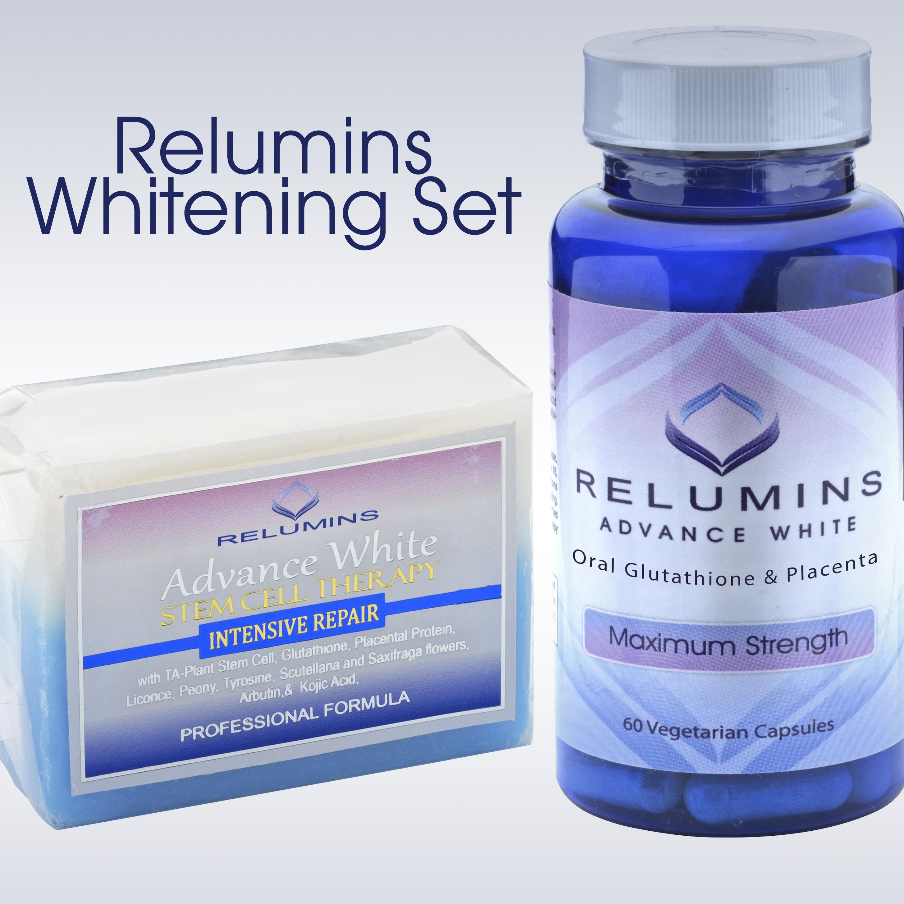 Relumins Whitening Set Advance White Oral Glutathione