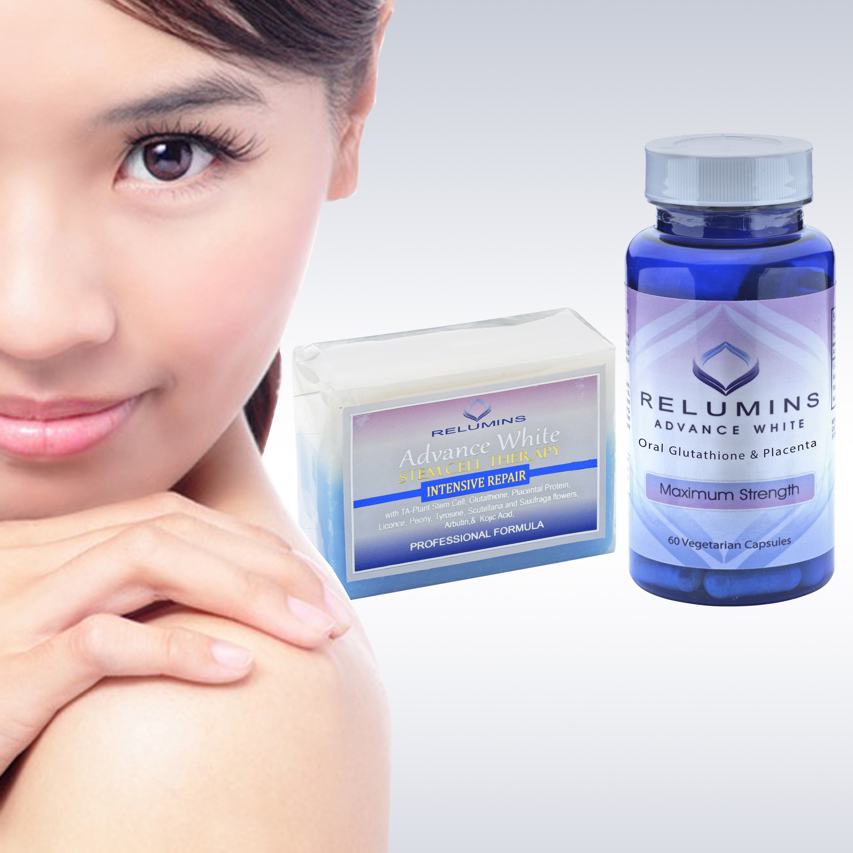 Relumins Whitening Set Advance White Oral Glutathione