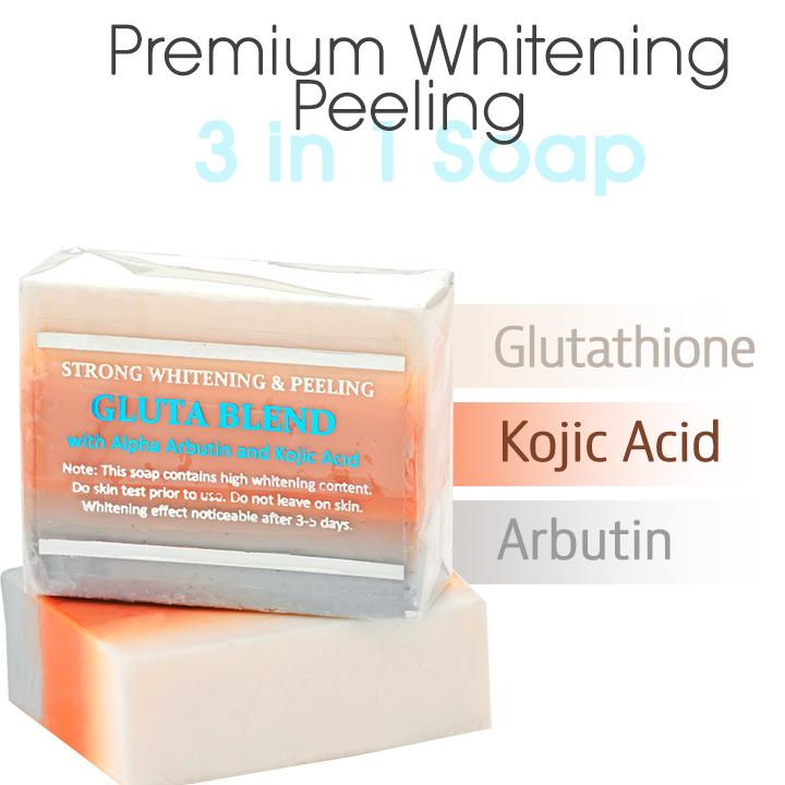 Premium Maximum Brightening/Peeling Soap w/ Glutathione ...