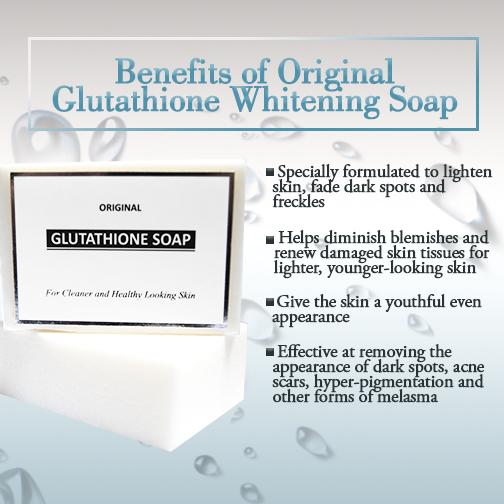 Original Glutathione Whitening Soap 120g More Effective