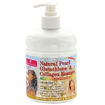 Natural Pearl Whitening Lotion with SPF, Glutathione & Collagen-Large 500ml