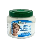 Hollywood Style Facial Whitening Mud Mask - Professional Formula -  11oz Jar
