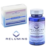 Relumins Whitening Set - Advance White Oral Glutathione & Stem Cell Intensive Repair Soap- NEW AND IMPROVED now with Rose Hips