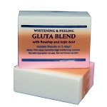 12 Bars of Premium Whitening/Peeling Soap w/ Glutathione, Rosehip and Kojic acid - For Normal Skin