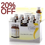 SALE 20% OFF!!!! 15 Authentic Mosbeau Collagen Plus 12000 Skin Vitalizing & Whitening Drink