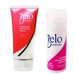 Belo Essentials Underarm Whitening Set - Whitening Roll-on Deodorant and Whitening Underarm Cream - Whitens Stubborn Underarms FAST!!!