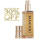 30% OFF!!! Makari 24K Gold Lightening Serum with Omega 3 and Probiotics - Highly Concentrated Lightening and Anti-Aging Gel