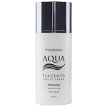 Authentic Mosbeau AQUA Placenta Face Cream - Whitening, Moisturizing & Anti Aging - NEW FORMULA!
