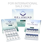 Authentic Relumins Advanced Glutathione 1400mg - Glutathione & Vitamin C - NO BOOSTER