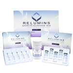 10 sets of New Relumins Advanced Glutathione 3500mg - Highest Legal Dosage, FDA Registered Formula PLUS BOOSTER