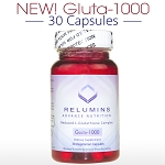 New!!! Relumins Advance Nutrition Gluta 1000 - Reduced L-Glutathione Complex - 30 CAPSULES (15 DAY SUPPLY)