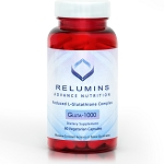 New Relumins Advance Nutrition Gluta 1000 - Reduced L-Glutathione Complex - 2x More Effective Than Jarrow at Raising Serum Glutathione