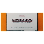 6 Bars of Original Papaya Kojic Whitening Bar - SAMPLE SIZE
