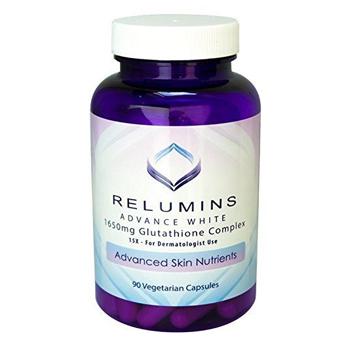 Relumins Advance White 1650mg Glutathione Complex - 15x Dermatologic Formula