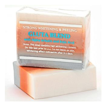 Premium Maximum Whitening/Peeling Soap w/ Glutathione, Arbutin, and Kojic acid