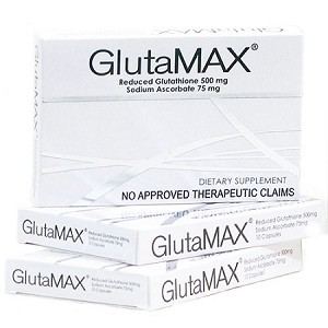 3 Boxes of GlutaMAX Reduced Glutathione & Sodium Ascorbate Capsules - 30 Capsules