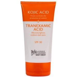 Belo Intensive Kojic & Tranexamic Acid Whitening Body Cream w/ SPF 30 - 150mL