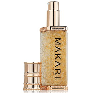 Makari 24K Gold Lightening Serum with Omega 3 and Probiotics - Highly Concentrated Lightening and Anti-Aging Gel
