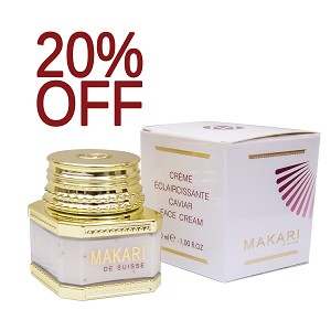 SALE 20% OFF!! Makari Caviar Face Lightening & Anti-Aging Cream 30ml - Great for Dry Skin!