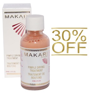 30% OFF!! Makari Pimple Drying Treatment Cream - 29mL Bottle