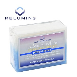 15 Bars of Relumins Advance Whitening Soap With Intensive Skin Repair & Stem Cell Therapy