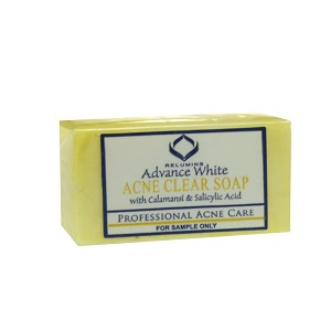 FREE SAMPLE Authentic Relumins Medicated Professional Acne Clear Soap with Calamansi & Salicylic Acid - SAMPLE SIZE