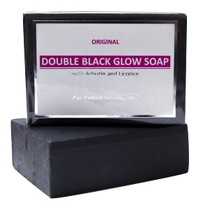 Authentic Arbutin & Licorice Black Soap 120g Whitening  Beauty Bar