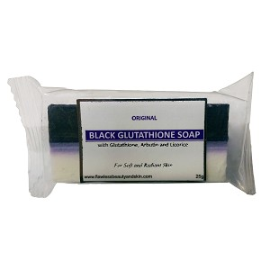 FREE SAMPLE - New Glutathione & Arbutin/Licorice Black & White Soap - Whitening Beauty Bar - SAMPLE SIZE