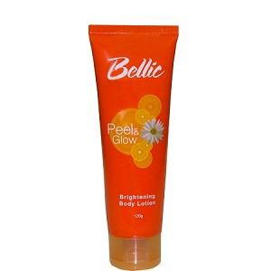 Bellic Peel and Glow Brightening Lotion - Reveal Radiant Skin with Kojic Acid and Daisy Extract