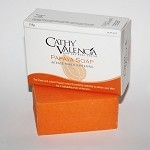 Authentic Cathy Valencia Luminous Papaya Triple Whitening Bar 135gm