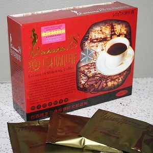 9 Boxes of Authentic Leisure 18 Slimming Coffee-Original Gold Formula
