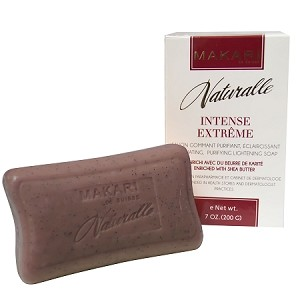 Makari Naturalle Intense Extreme Lightening Exfoliating Purifying Soap Enriched with Shea Butter, 7.0 Oz.