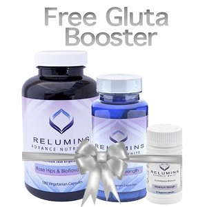 FREE Gluta Booster with purchase of Relumins Advanced White Oral Glutathione, Vitamin C MAX