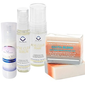 Authentic Relumins Medicated Professional Acne & Dark Spot Appearance Reducing Set