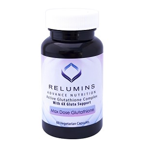 3 Bottles Authenic Relumins Advance White Active Glutathione Complex -Oral Whitening Formula Capsules with 6X Boosters