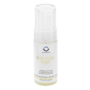 Authentic Relumins Medicated Professional Acne Clear Foaming Wash with Acne Fighting Botanicals