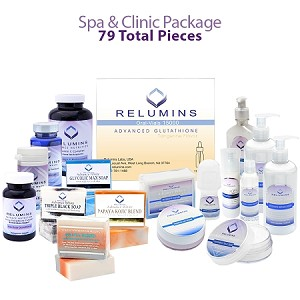 Flawless Spa & Clinic Start-up Package with Gluta Vials - 79 Total Pieces!