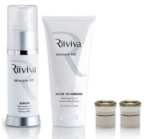 Riiviva Microdermabrasion Acne Scarring Upgrade Kit (no device)