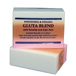 Premium Whitening/Peeling Soap w/ Glutathione, Rosehip and Kojic acid - For Normal Skin