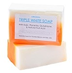 12 Bars of Kojic Acid, Placenta, & Glutathione Triple Whitening/Bleaching Soap appx. 150gms
