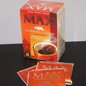 9 Boxes Authentic MAX Slimming Coffee-Ganoderma/Ginseng