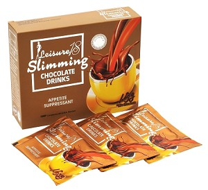 7 Boxes - Authentic Leisure 18 Slimming Chocolate Drink-With HCA & L-Carnitine