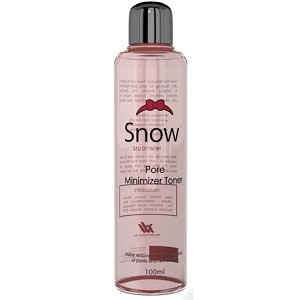 Snow Pore Minimizer Toner - Visibly Reduces the Appearance of Pores and Refines Skin - 100 mL Bottle