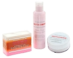 6 Premium Face & Body Whitening 3pc Sets w/ Glutathione, Rosehip, and Kojic Acid
