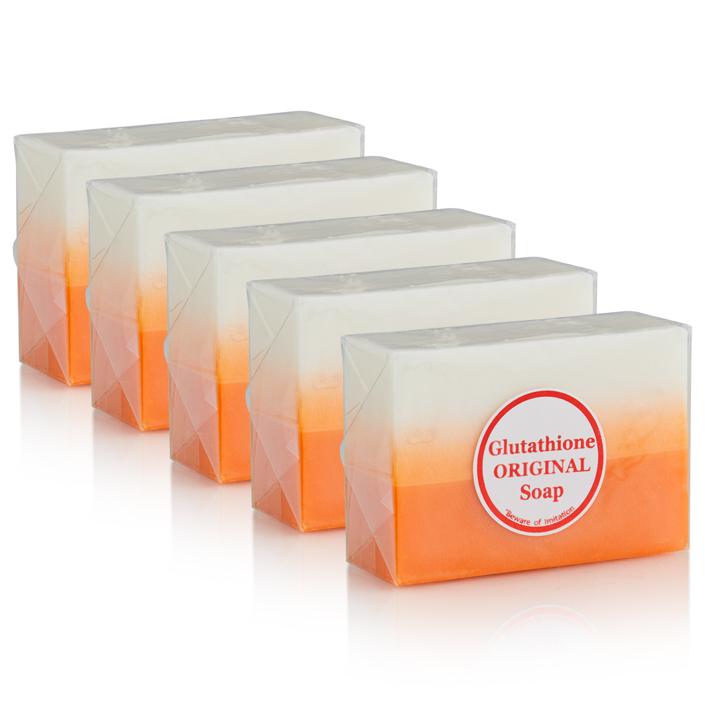 5 Bars of Kojic Acid & Glutathione Dual Whitening Soap-SUPER SAVINGS