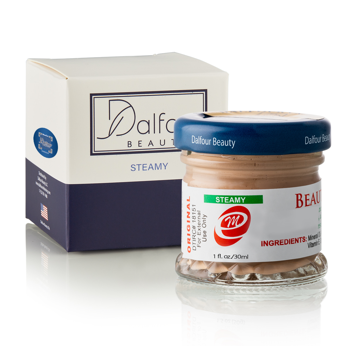 Authentic Dalfour Beauty Gold Seal Brightening Cream Steam Cream For Oily & Combination Skin